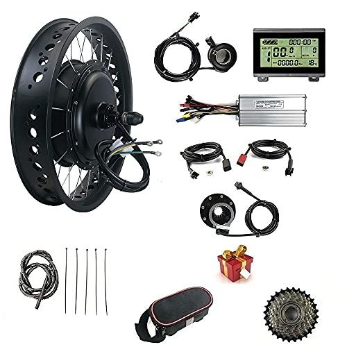 with USB Display,48V 1500W Snow Bike/Fat Tire,...