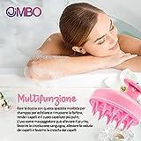 Zoom IMG-2 jimbo massaggiatore capelli in silicone