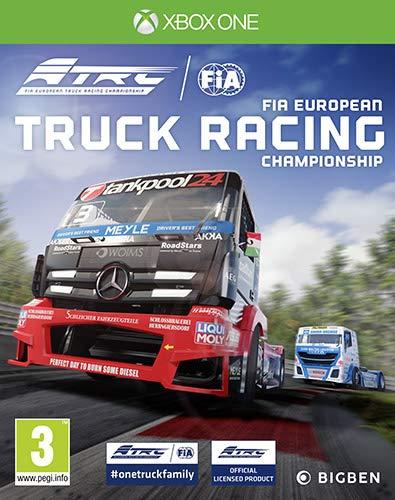 Bigben FIA European Truck Racing Championship Videogioco XBOX ONE [Importación italiana]