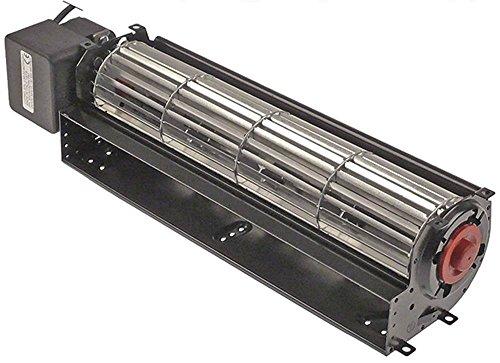 COPREL FFL - Ventilador transversal para tecnología de frío (43 W, diámetro de 60 mm, 300 mm, motor izquierdo 230 V, 50 Hz, cable de conexión 2000 mm, 30 mm)