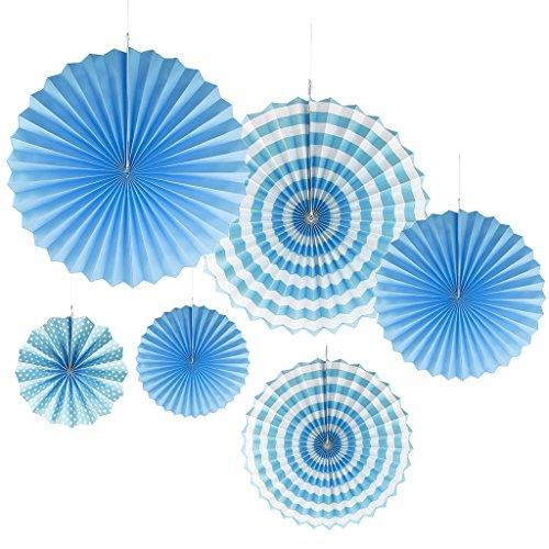 Molinillos De Viento Azules Marca F Fityle