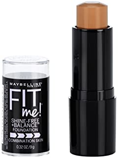Maybelline New York Fit Me Shine-Free + Balance Stick Foundation, Toffee, 0.32 oz.