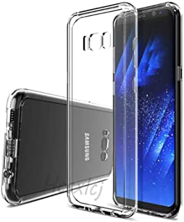 Galaxy S8 SC-02J SCV36 ケース TPU SC-02J SCV36 対応 透明保護ソフト シリコンケース 薄型 上質TPU クリア、耐衝撃、黄変防止、汚れ防止、 耐水、防指紋、散熱加工 ケース Samsung Galaxy ...