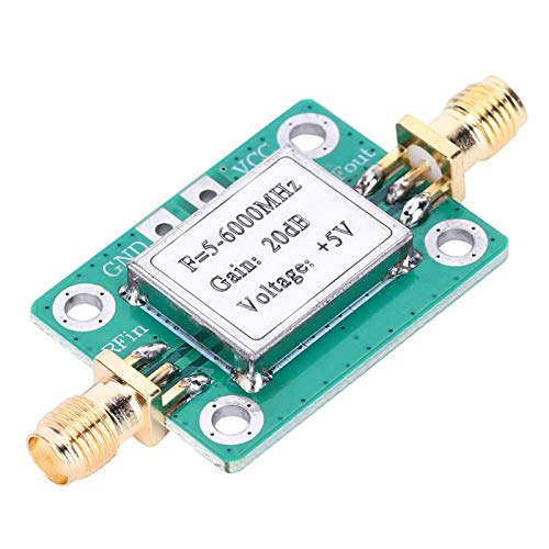 Jeanoko Módulo Amplificador de señal de frecuencia de Funcionamiento Amplia de Potencia...