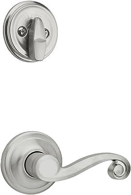 Kwikset 966CHLLH-26D Left Hand Commonwealth Interior Single Cylinder Handleset Trim Satin Chrome Finish