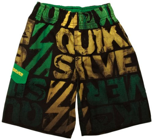 Quiksilver Jungen Hose Jams Dipped, greeny, 176/16 Jahre, KRBJA031-GRY