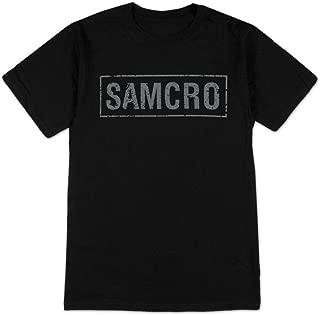 SAMCRO Banner Black Adult T-shirt Tee