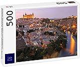 Lais Puzzle Hermosa Vista panorámica de Toledo al Atardecer. España, Castilla-La Mancha 500 Piezas