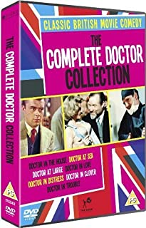 The Complete Doctor Collection (Doctor in the House / Doctor at Sea / Doctor at Large / Doctor in Love / Doctor in Distress / D
