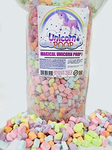 Unicorn Poop Candy  dehydrated cereal marshmallow charms  MADE IN THE USA – Party Supplies Bag Favors for Kids