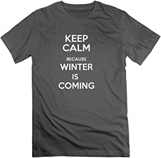 Winter is Coming Men's T-Shirts