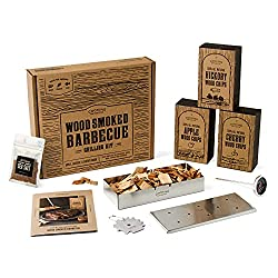 Smoking BBQ Grill Set