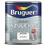 Bruguer Esmalte para Azulejos Brillante Blanco Harina 2,5 L