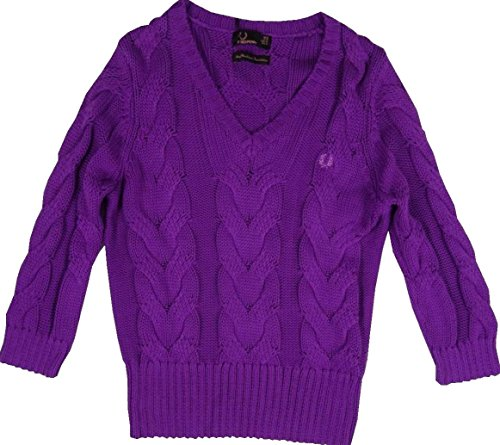 Fred Perry Damen Pullover - Amy Winehouse Collection - Lila (Lila, 38)