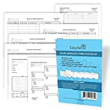 Blank Genealogy Forms Starter Kit (7 types/40 Sheets) by EasyGenie