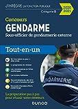 Concours Gendarme - Sous-officier de gendarmerie externe - 2020/2021- Tout-en-un - Tout-en-un (2020-2021)