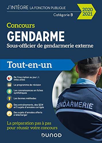 Concours Gendarme - Sous-officier de gendarmerie externe - 2020/2021- Tout-en-un: Tout-en-un (2020-2021)