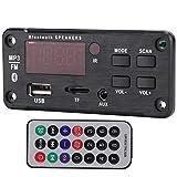 Mxzzand Módulo de decodificación de Placa de decodificación de Interfaz USB de Distancia remota de 10 Metros para Altavoz de Coche