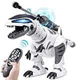 DANSIOYE Remote Controller Robot Dinosaur Intelligent Interactive Smart Toy Cools Toys Walking Dancing Singing with Fight Mode Toys for Kids Boys Girls Age 5 6 7 8 9 10 and Up Year Old