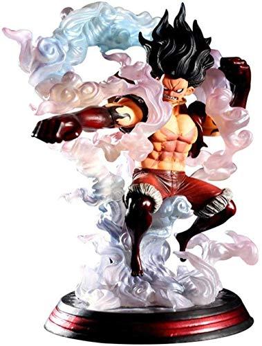 lkw-love Anime One Piece Monkey D Luffy Snakeman PVC Estatuilla