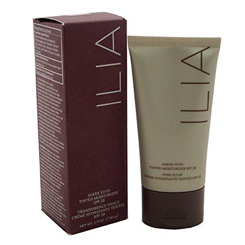 ILIA Beauty Sheer Vivid Tinted Moisturizer SPF 20, No. T3 Hanalei, 1.9...