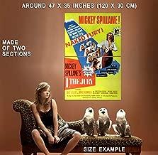 74019 I, The Jury Movie 1982 Thriller Drama Decor Wall 47x35 Huge Giant Poster Print
