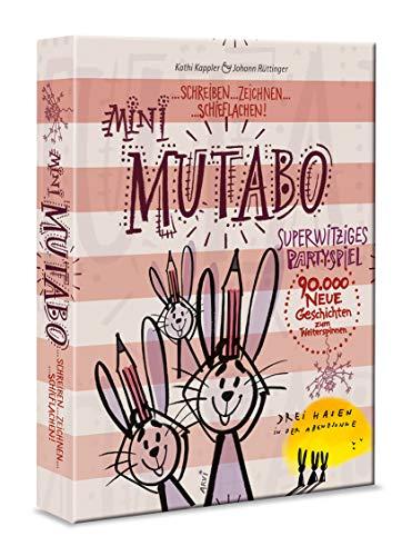 Drei Hasen in der Abendsonne GmbH 0030 Mini Mutabo – Schreib-und Zeichenspiel, Reisevariante