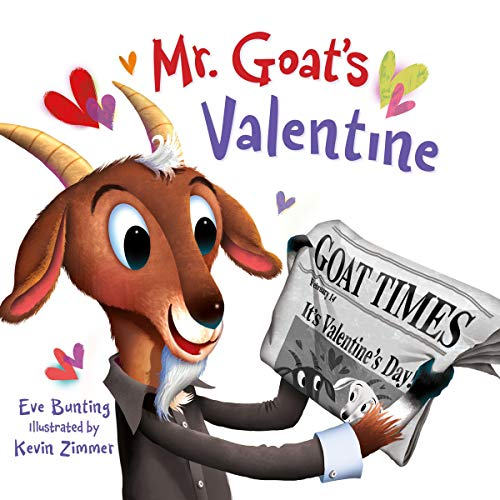 Mr. Goat's Valentine audiobook cover art