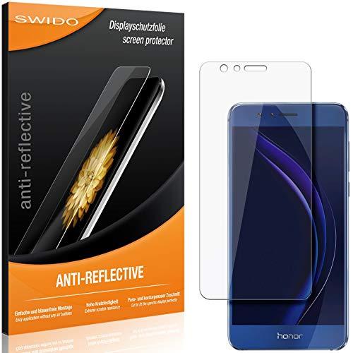 SWIDO Schutzfolie für Huawei Honor 8 Premium [2 Stück] Anti-Reflex MATT Entspiegelnd, Hoher Festigkeitgrad, Schutz vor Kratzer/Folie, Bildschirmschutz, Bildschirmschutzfolie, Panzerglas-Folie