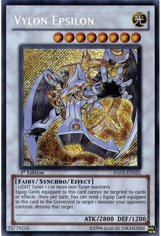 YuGiOh   HA05-EN025 1st Ed Vylon Epsilon Secret Rare Card - ( Hidden Arsenal 5 Steelswarm Invasion Yu-Gi-Oh  Single Card ) B006IDE14O Fuxin  | Stabile Qualität