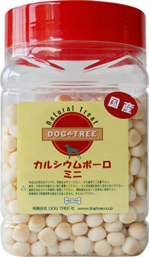犬用おやつ カルシウムボーロ ミニ ボトル ドッグツリー dogtree