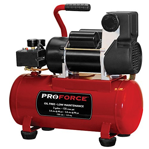 Pro-Force VPF1080318 3 Gallon Air Compressor kit