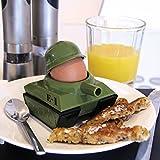 Eierbecher 2er Set [Egg-Splode] | Eierbecher & Toastschneider aus Kunststoff