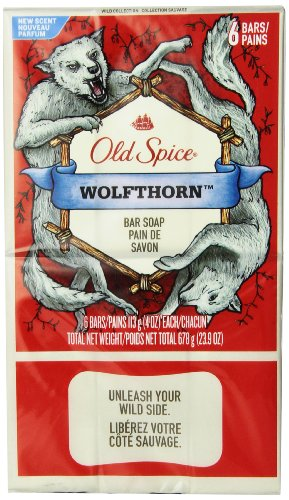 Old Spice Wolfthorn, 6 count