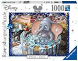 Ravensburger, Puzzle 1000 pezzi, Puzzle per Adulti, Disney Collection, Dimensione puzzle 70x50 cm, Collector's Edition, I classici Disney, Dumbo