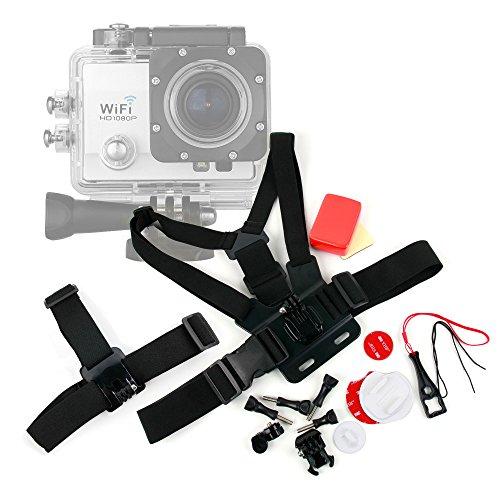 Kit de accesorios para cámaras deportivas Excelvan Q3 / Q5...