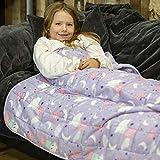 Rest Easy gewichtete Decke für Kinder   schwere Decke für Schlaf, Stressabbau, Angstlinderung & sensorisch beruhigende Decke für tollen Schlaf   100% superweiches Baumwollmaterial (3 kg, Peppa Pig)