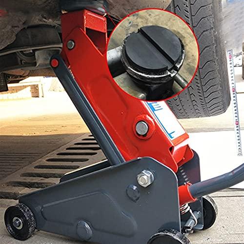 YSNUK Piso ranurado Auto Coche de Caucho Jack Pad Marco Protector Protector Adaptador Caja de la Almohadilla de Disco para pinchar el Disco de elevación Lateral de Soldadura