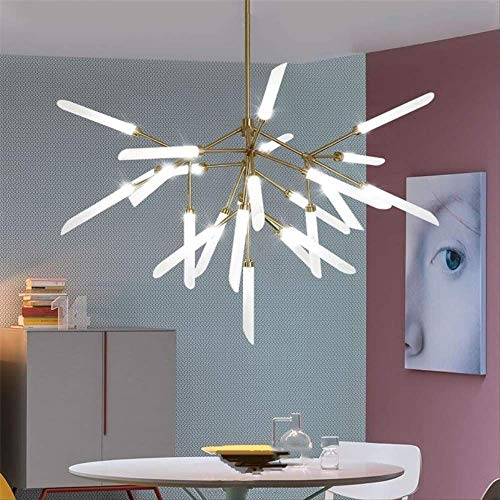 Twigs Led Firefly Chandelier Living Room Chandelier Lighting Decor Light Fixtures As shown gold