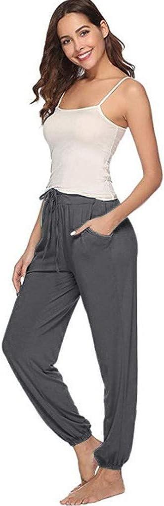 Forthery-Women Fleece Pajama Pants - Sleep & Loungewear PJ Bottoms - Pajama Jogger Lounge Sleep Pants Sweatpants