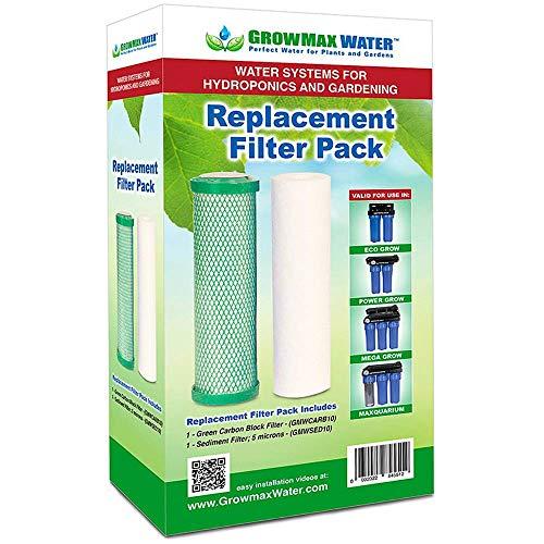 Pack de Filtros de recambio GrowMax Water Eco Grow (240 L/h)