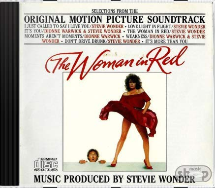 Stevie Wonder The Woman In Red Selections Fr novo lacr orig