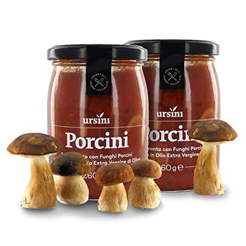 Ursini Salsa de Tomate con Boletus y Aceite de Oliva Virgen