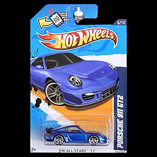 Hot Wheels 2012-124 HW todas las estrellas 12 'Porsche 911 GT2 azul