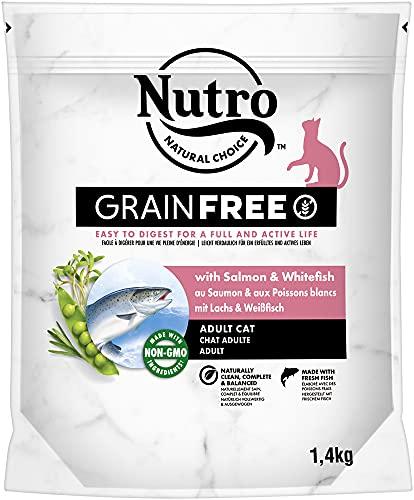 Nutro Grain Free gato adult salmón 1,4 kg 🔥