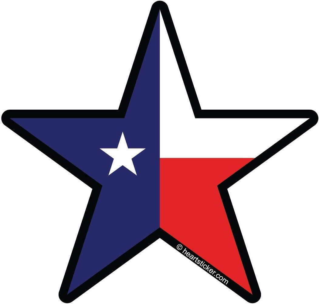 Texas Sticker Lone Star Flag Vinyl Decal Apply To Water Bottle Laptop Cooler Car Truck Bumper Tumbler 214 512 915 713 Dallas Houston El Paso