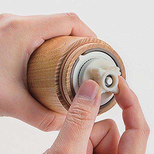 川崎合成樹脂MILLU手挽きコーヒーミルウッド欅(KEYAKI)MI-008