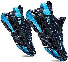 BINSHUN Men's Running Shoes Non Slip Walking Shoe for Men Sneakers Athletic Breathable Blue