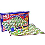 KT Snakes and Ladders Board Game Traditional Children Game