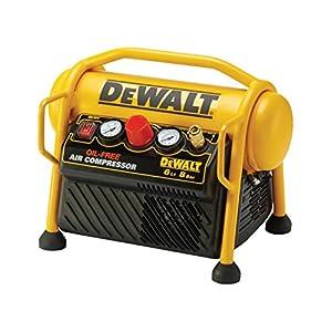 5158qQ6 dmL. SS300  - Dewalt DPC6MRC-QS Compresor de 6L sin aceite y portátil de 1.100W con presión de 8Bar, 1.100 W